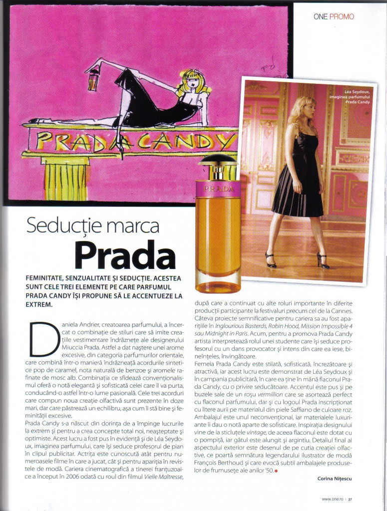 Seducţie marca Prada - The ONE