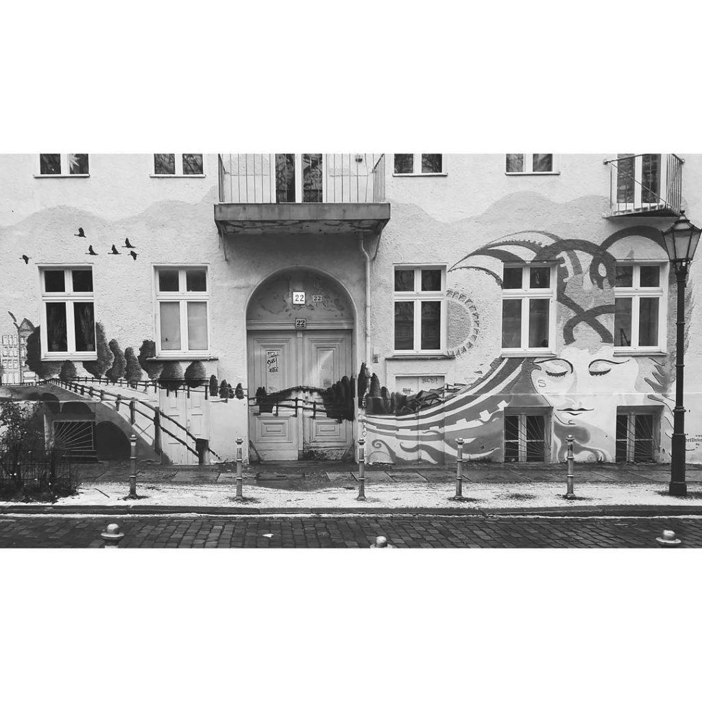 Street art in Berlin 2 blackwhite blackandwhite bw bwlife bnwhellip