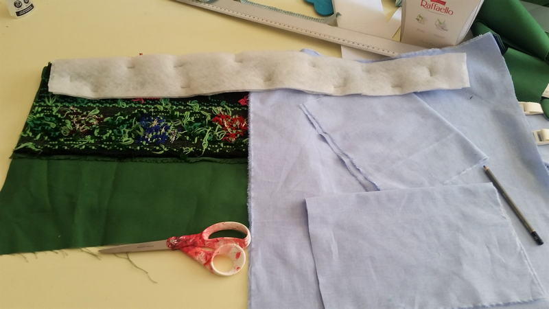 First Time Sewing a Zipper for a Tote Bag